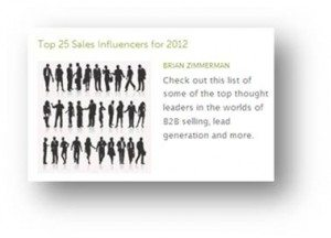 OpenView Names Top 25 Sales Influencers