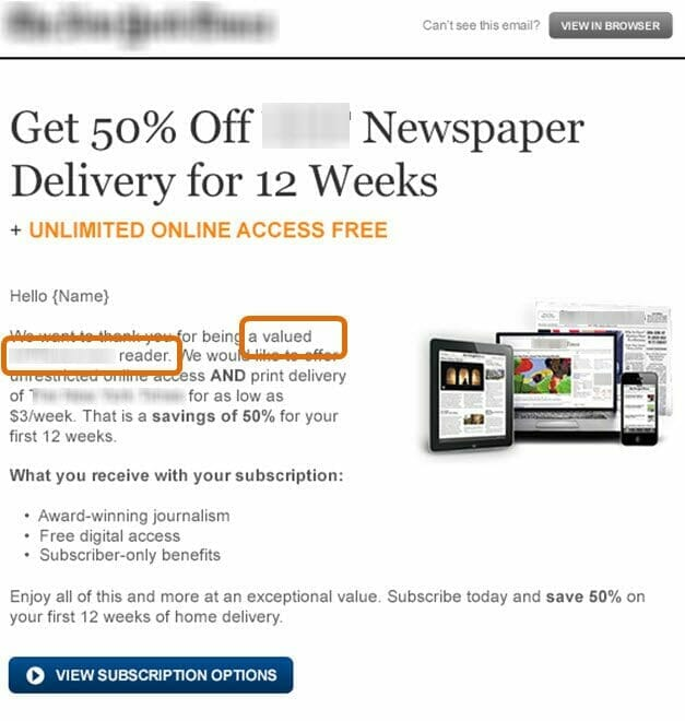 , Email Copywriting: 3 tactics for delivering value over perceived cost