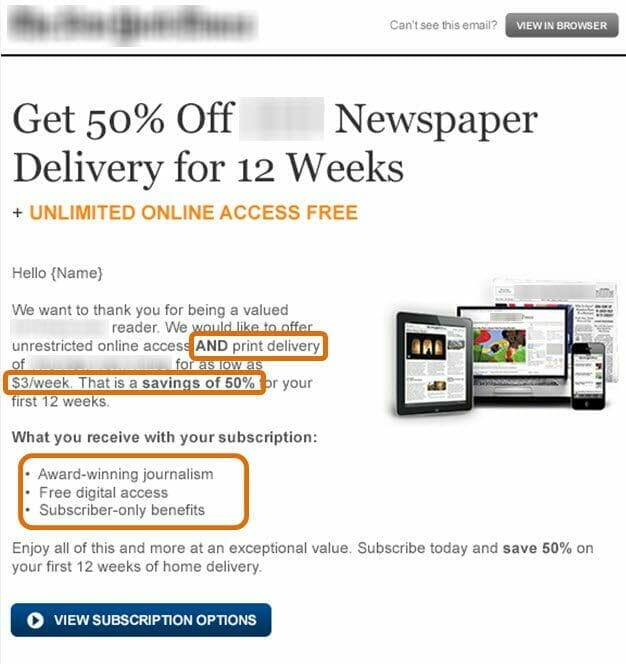 Email Copywriting: 3 tactics for delivering value over perceived cost