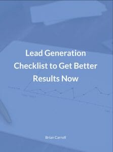 , Lead Generation Checklist